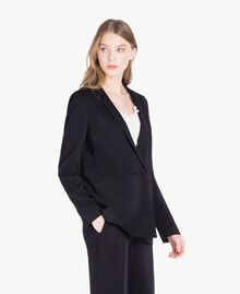 Georgette jacket Black Woman PS8256-02