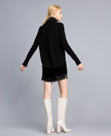 Wool and cashmere jumper Black Woman TA83AC-03