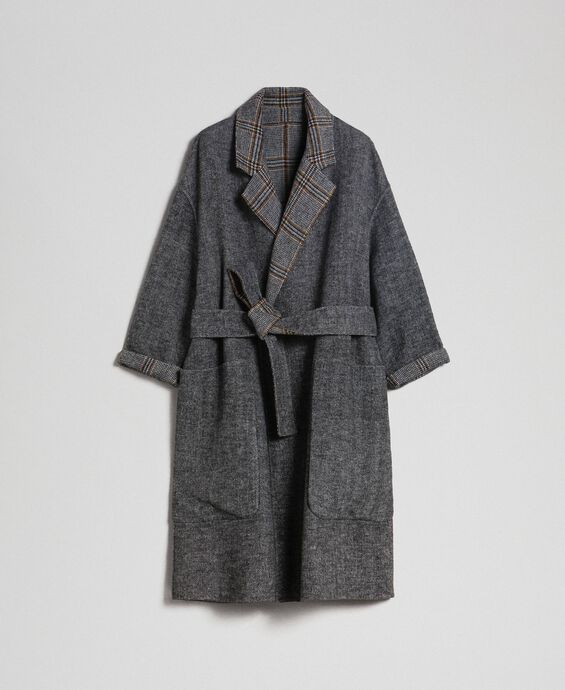 Manteau réversible fantaisie