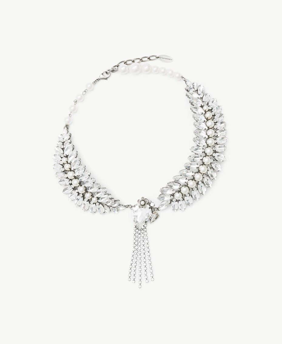 Collier strass Cristal Femme AS8P9B-01