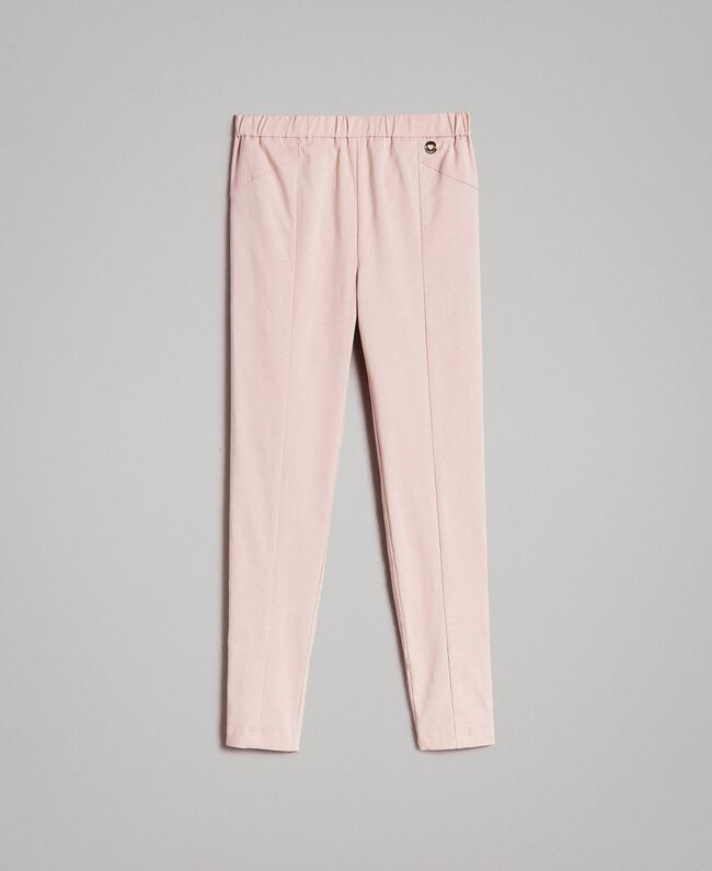 Cotton skinny trousers Blossom Pink Child 191GJ2111-01