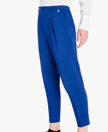 Pantalon cigarette slouchy Bleu Bleuprint Femelle PA72TA-04