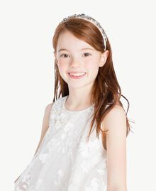 "Robe tulle Blanc ""Papers"" Enfant GS8LCA-05"