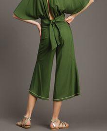 Pantalon court Vert Amazone Femme 191LM2REE-03