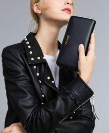 Portefeuille cuir Noir Femme OA8THA-0S