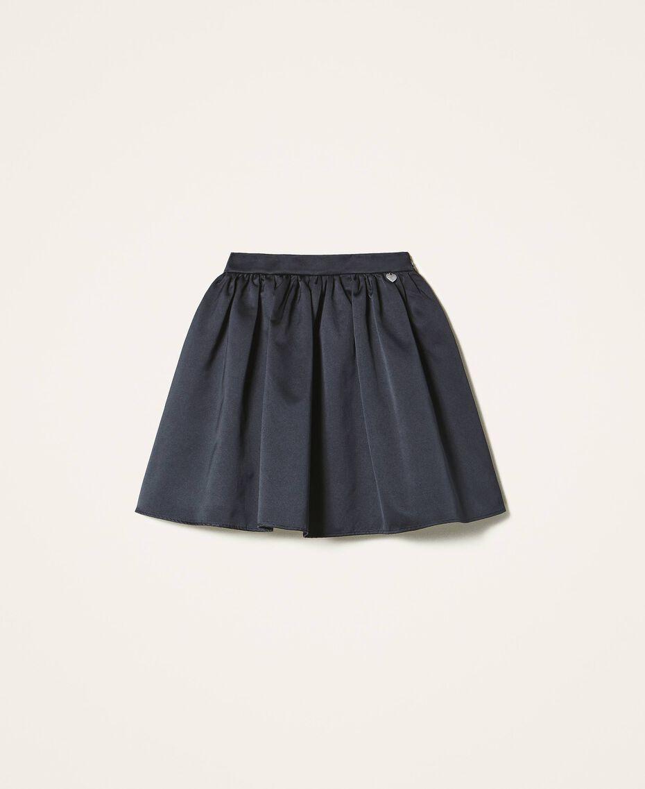 Minifalda de duquesa Negro Mujer 202TP2453-0S