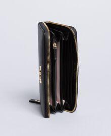 Portefeuille cuir Noir Femme OA8THA-03