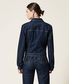 Giacca 'Gold' in jeans Denim Rinse Donna 212AP2143-03