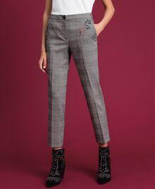 Pantaloni a sigaretta in principe di Galles Principe Di Galles Donna 192MP2285-02