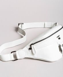 Rebel leather bum bag White Snow Woman 191TO8635-02