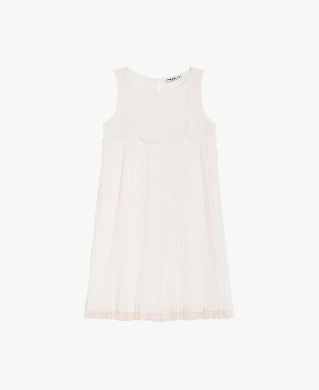 Robe plissée Chantilly Enfant GS8LDP-01
