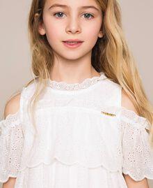 Broderie anglaise dress Off White Child 201GJ2QB0-04