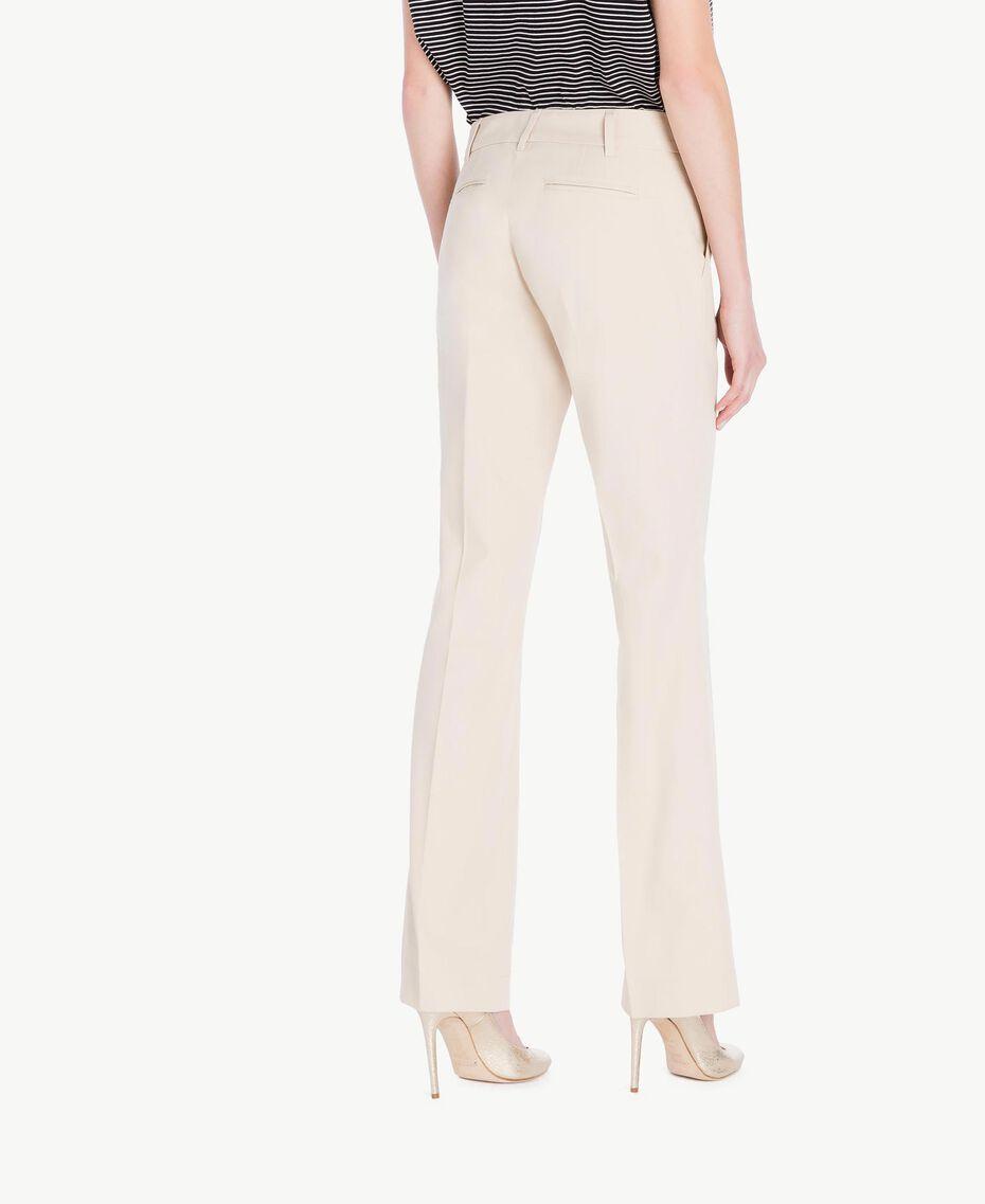 Pantalone canvas Ecrù Donna PS824S-03