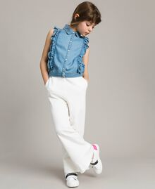 Weiches Jeans-Top Soft Denim Kind 191GJ2561-0S