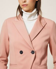 """Double breasted two-button blazer """"Vintage"""" Pink Woman 202ST2020-04"""