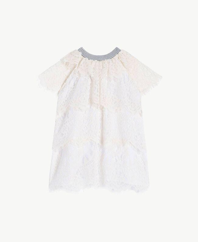 Robe dentelle Chantilly Enfant FS82UP-01