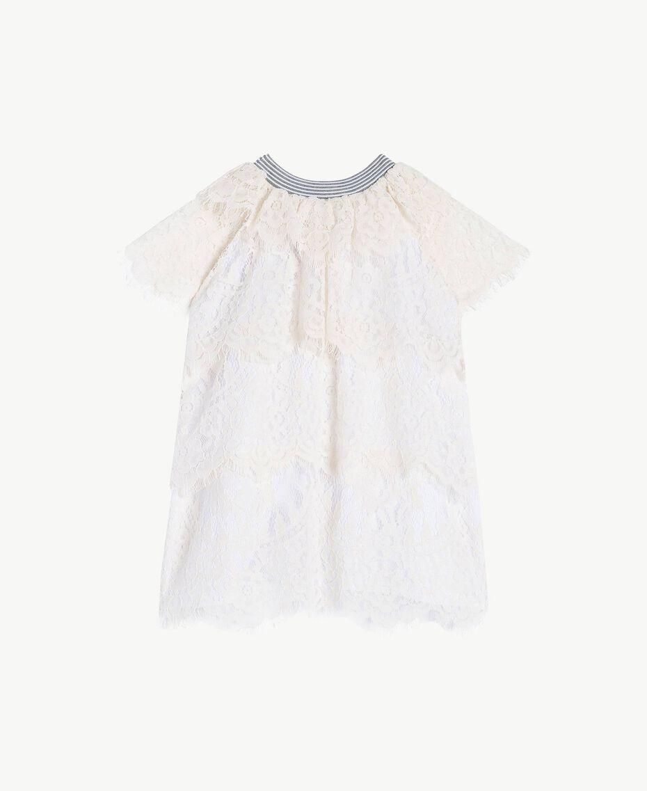 Lace dress Pale Cream Child FS82UP-01