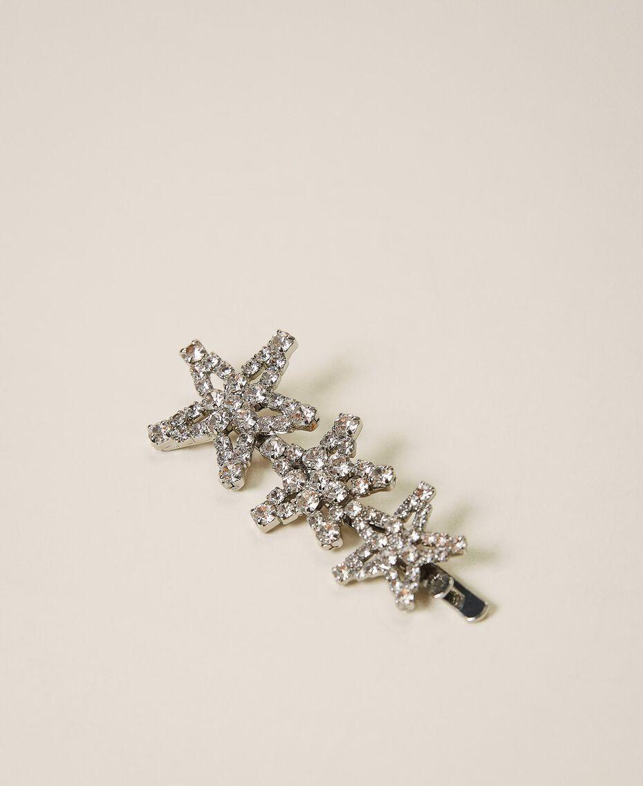 Hair pin with rhinestone stars Crystal Woman 202TA430L-01