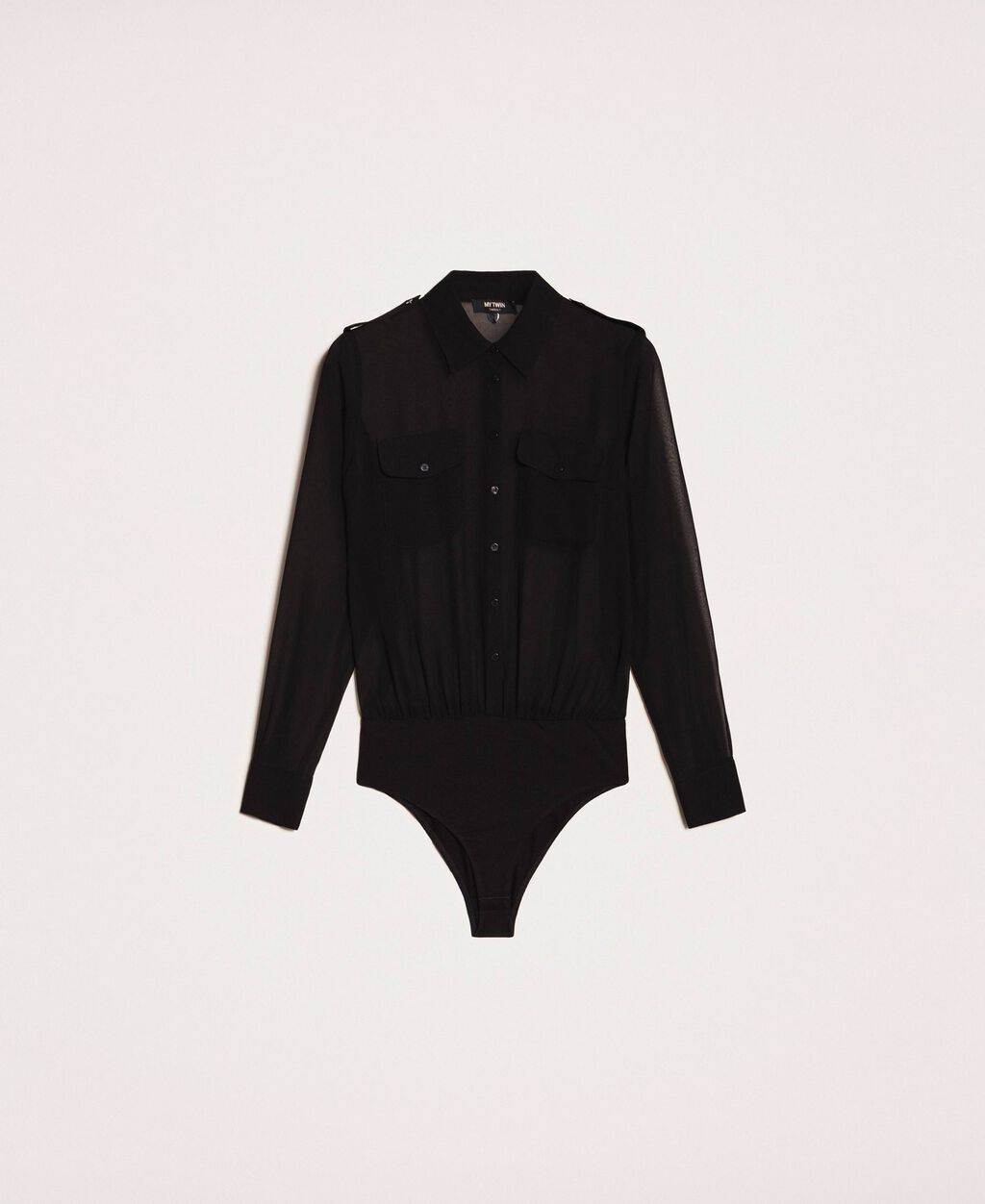 Georgette body shirt