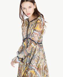 Kleid mit Print Paisleyprint Frau SS82MD-04