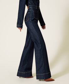 Jeans bell bottom 'Gold' Denim Rinse Donna 212AP2135-04