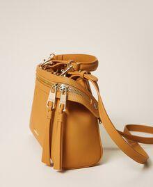 Kleine New Cécile Bag aus Lederimitat Golden Yellow Frau 202TB7181-01
