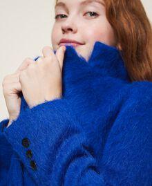 Пальто из сукна Темно-васильковый Pебенок 202GJ2840-04