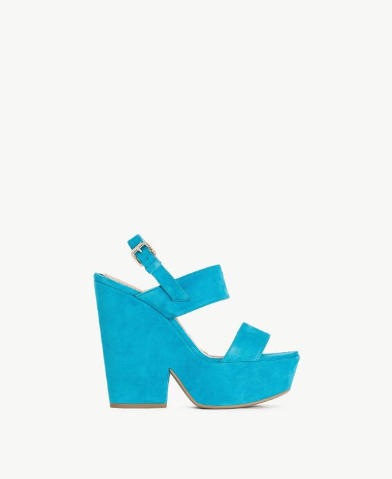 TWINSET Suede sandals