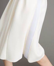 """Full scuba skirt """"Silk"""" White Woman 191TP2065-04"""