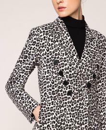 Animal print blazer Lily Animal Print / Black Woman 201MP2451-05