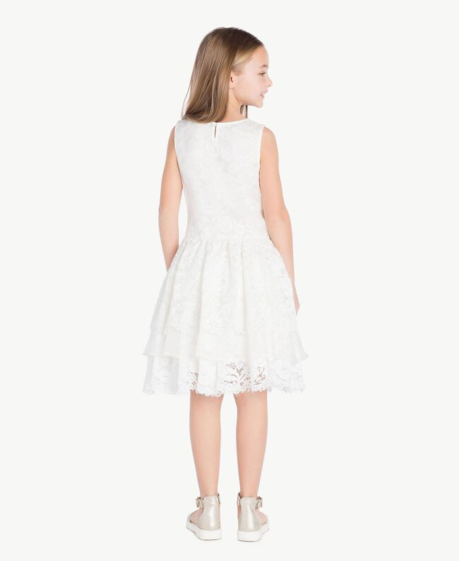 Robe soie Chantilly Enfant GS8LD1-04