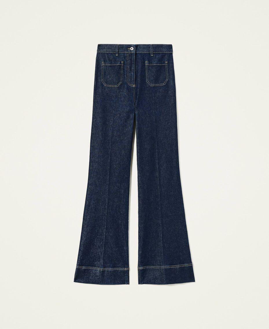 Jeans bell bottom 'Gold' Denim Rinse Donna 212AP2135-0S
