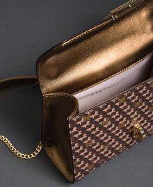 Petit sac à bandoulière avec imprimé papillons Imprimé Papillon Or Foncé Femme 192TO801M-05