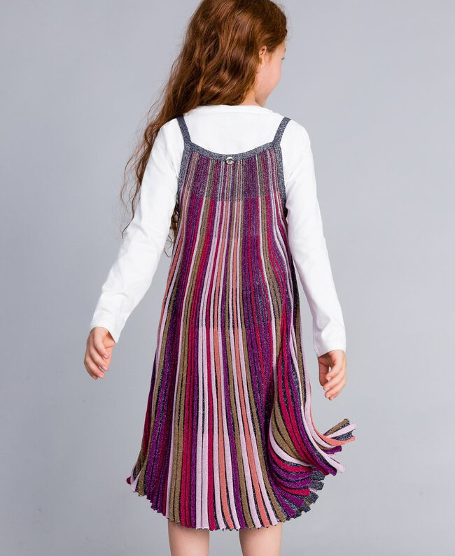 Robe en lurex multicolore Multicolore Lurex Enfant GA83KP-03