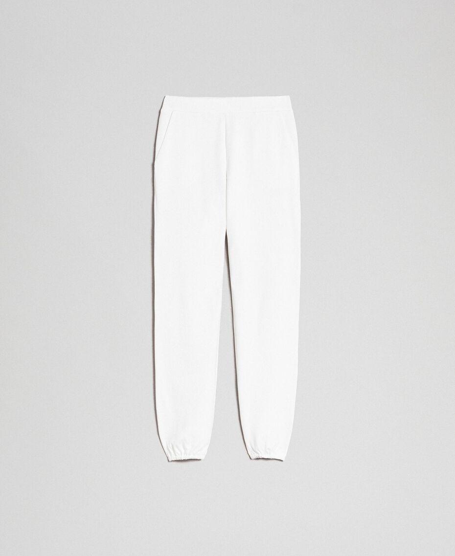 Pantalon de jogging Ivoire Femme 192LI2UEE-0S