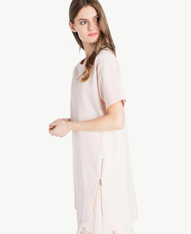 Lace dress Pale Ecru Woman PS828P-04
