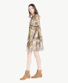 Printed dress Paisley Print Woman SS82MD-02
