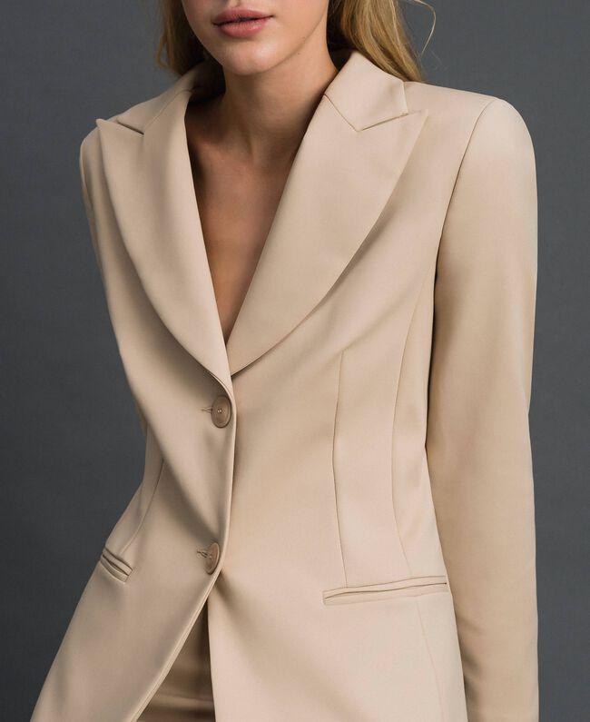 Blazer with pockets Cream Woman 999TT2010-04