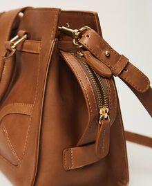 Кожаная сумка-шоппер с пряжкой Кожа женщина 202TB7124-04