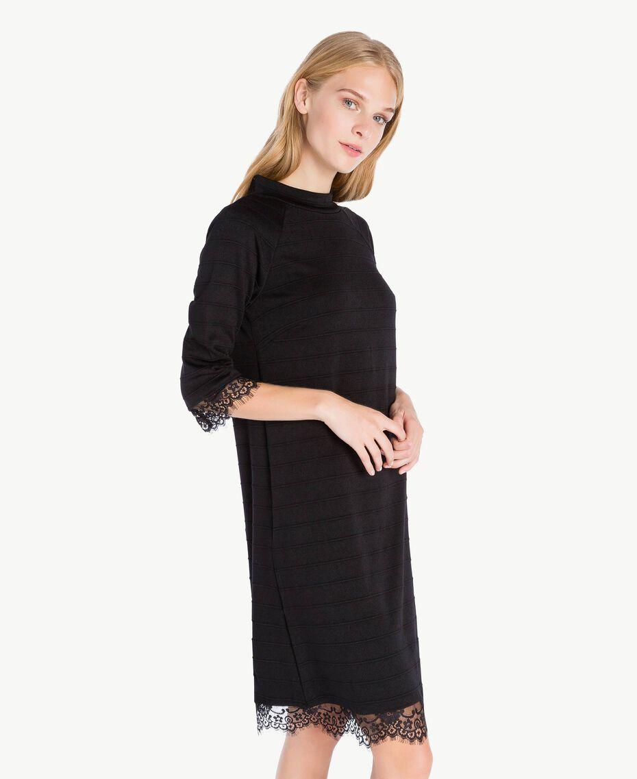 Lace dress Black IA7SAA-03
