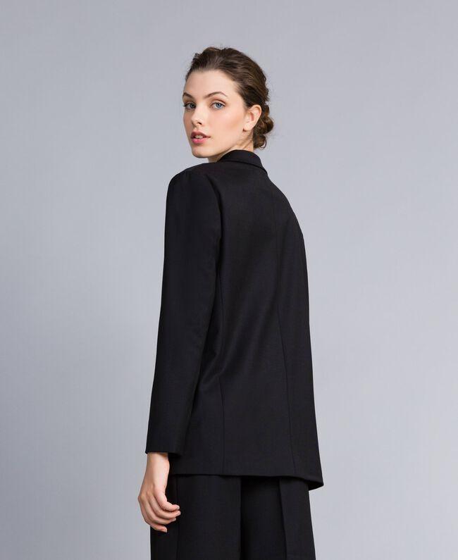 Veste en laine froide Noir Femme PA823R-03