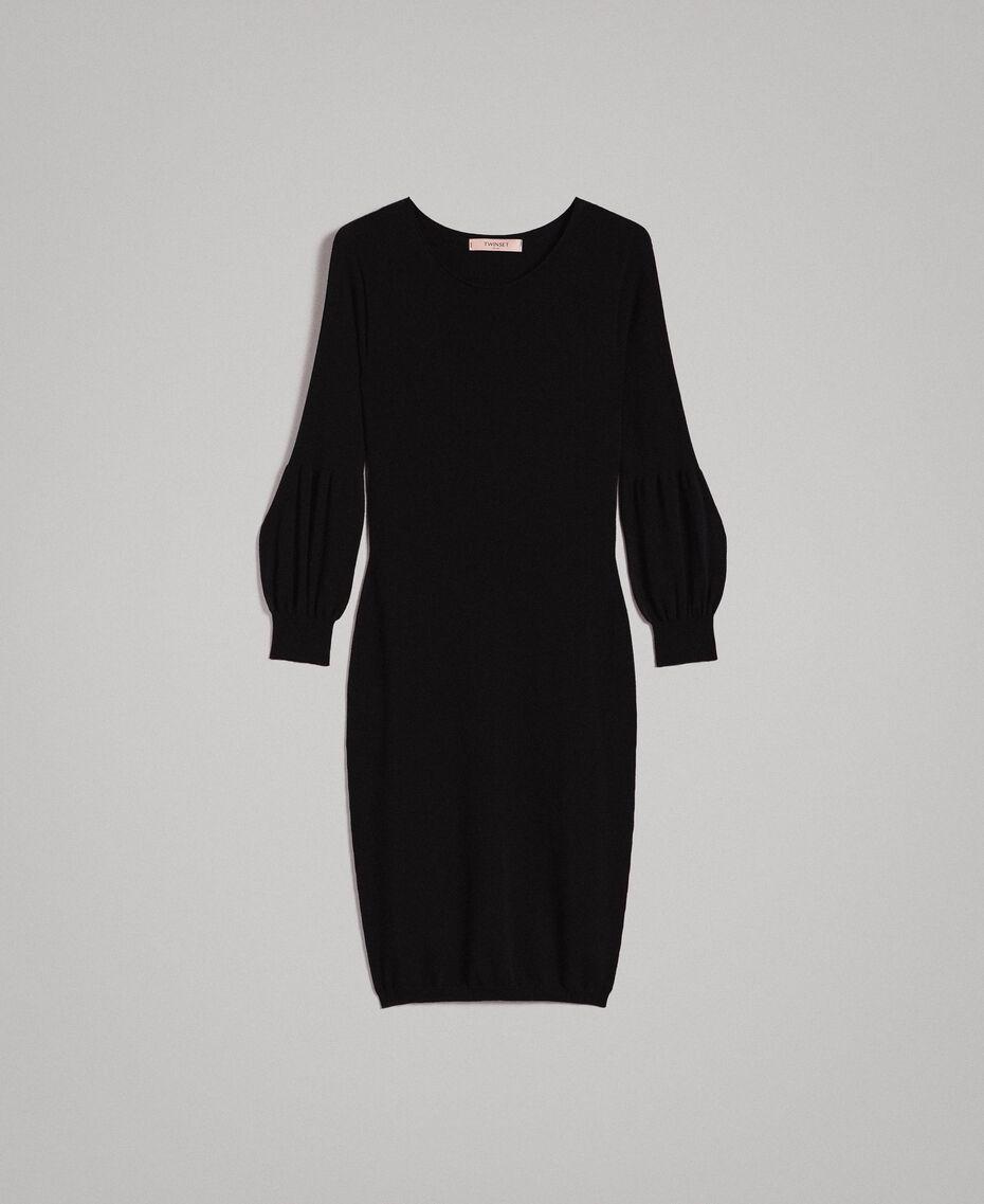 Robe fourreau avec fentes Noir Femme 191TP3291-0S