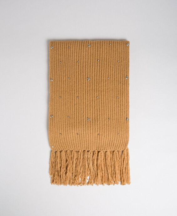 Bezel and fringe scarf