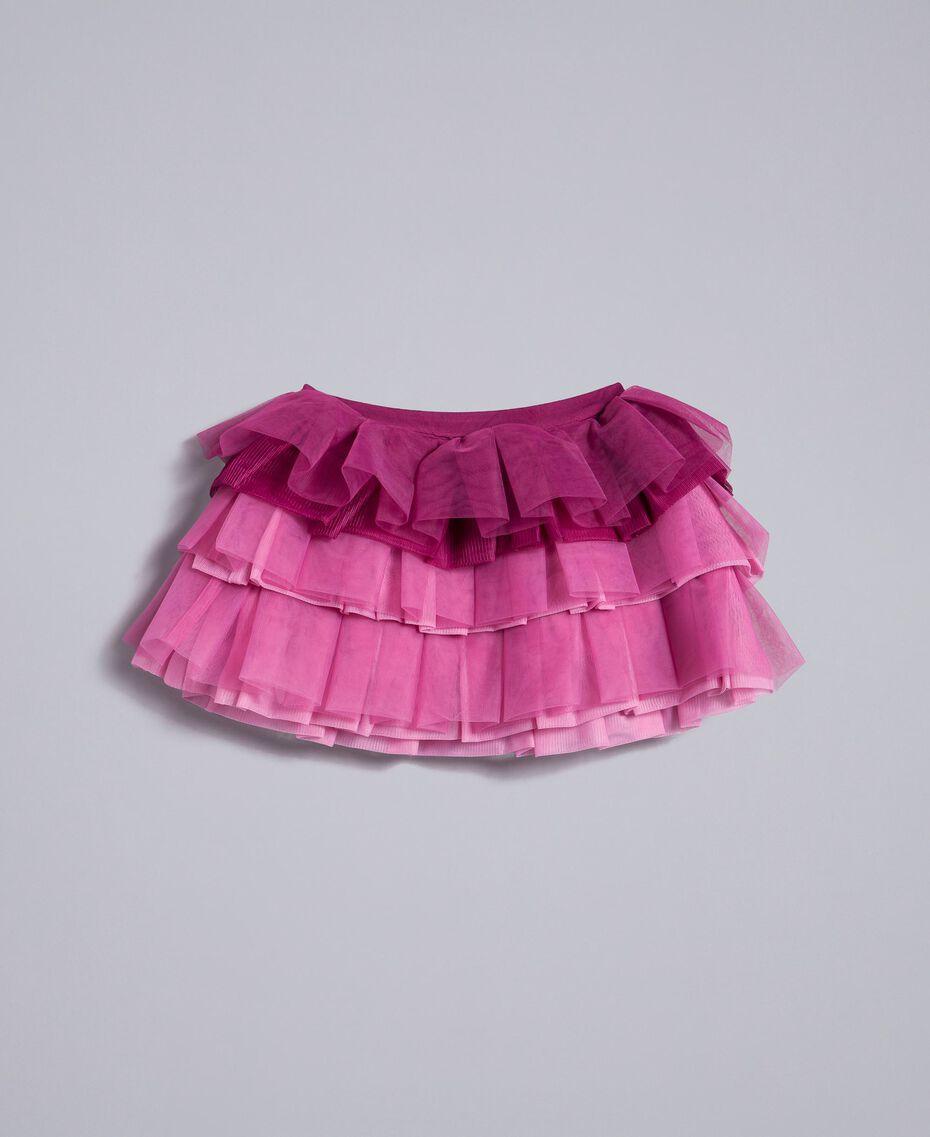 Tulle skirt Dark Rose Child FA82JN-0S
