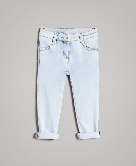 Jean skinny strass