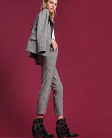 Pantaloni a sigaretta in principe di Galles Principe Di Galles Donna 192MP2285-05