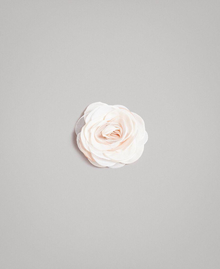 """Robe en tulle avec broche en forme de fleur """"Aigue"""" Bleu clair Enfant 191GJ2QM0-20"""