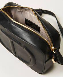 Shoulder bag with logo Black Woman 211TD8081-06