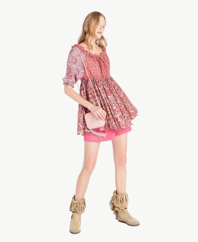 printed blouse Mixed Paisley Print Woman TS82XD-05