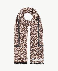 Bufanda con animal print Estampado Mácula Mujer AS8P3G-01